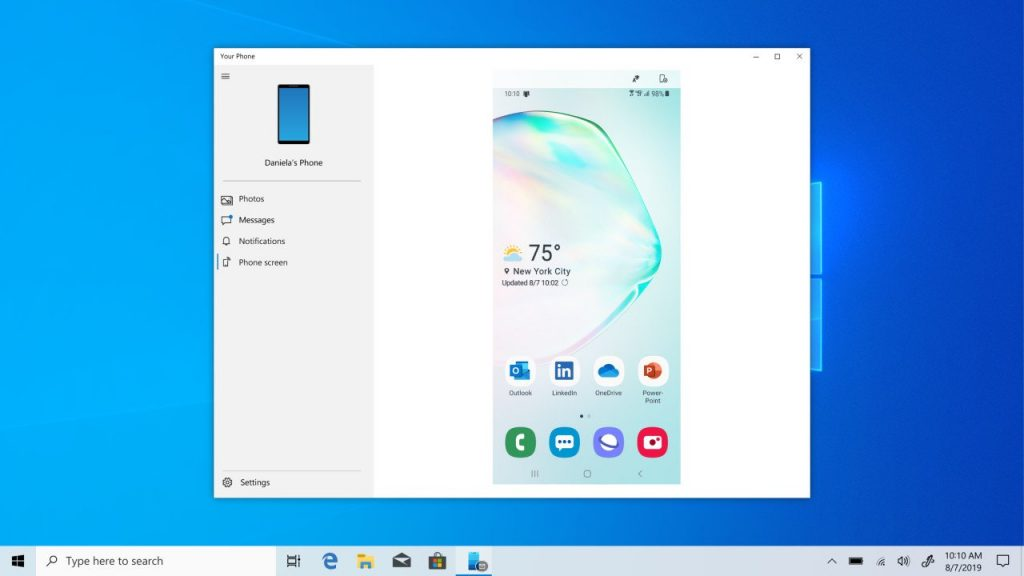 "Other Samsung Android phones may get built-in ""Link to Windows"" experience currently exclusive to the Note 10"