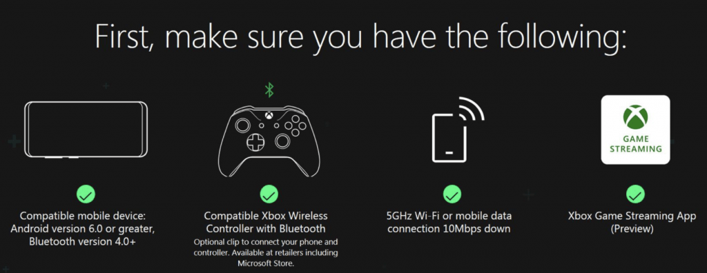 Sign up today to get into Project xCloud preview, launching in October in US, UK, and S. Korea