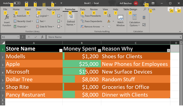 Our top 5 tips and tricks for Microsoft Excel in Office 365
