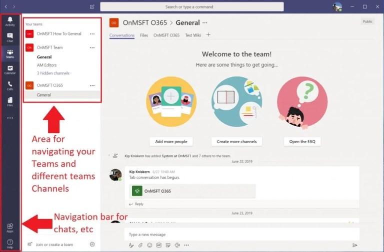 Microsoft Teams vs Slack: User Interface