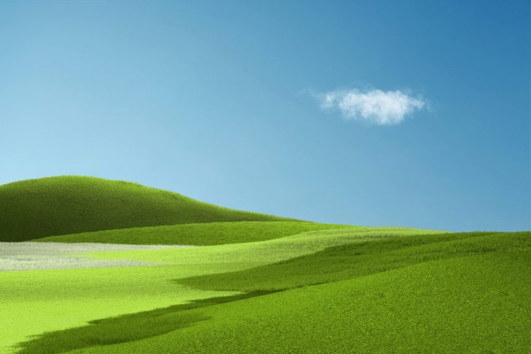 Here S What The Surface Pro X Wallpaper Blended With Windows