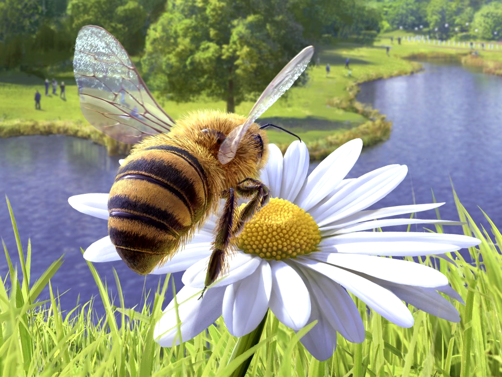 Bee Simulator video game on Xbox One