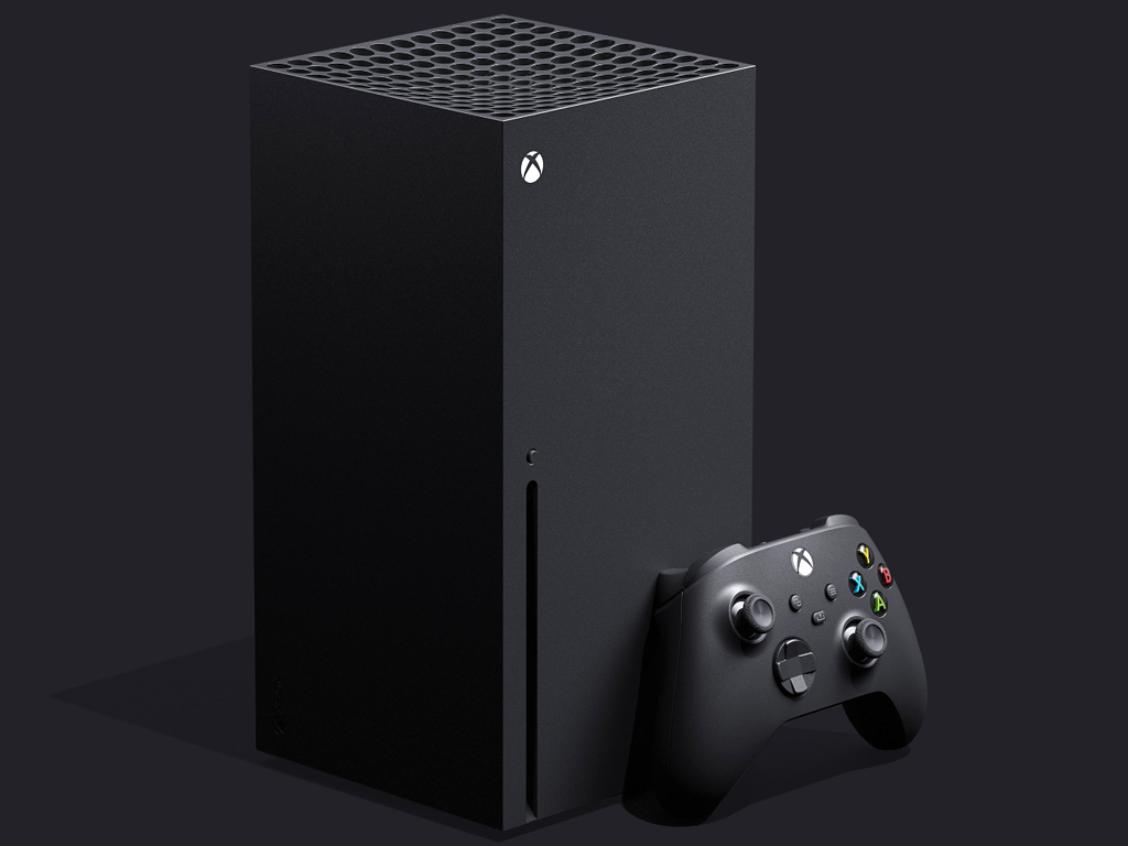 Microsoft's Xbox Series X video game console.
