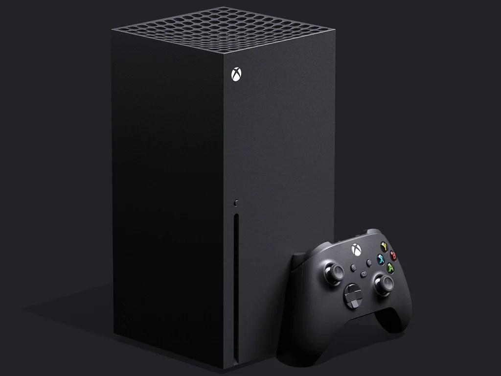 Microsoft's Xbox Series X video game console.