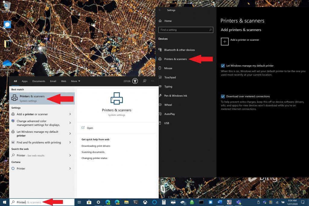 Microsoft, Windows 10, Printer