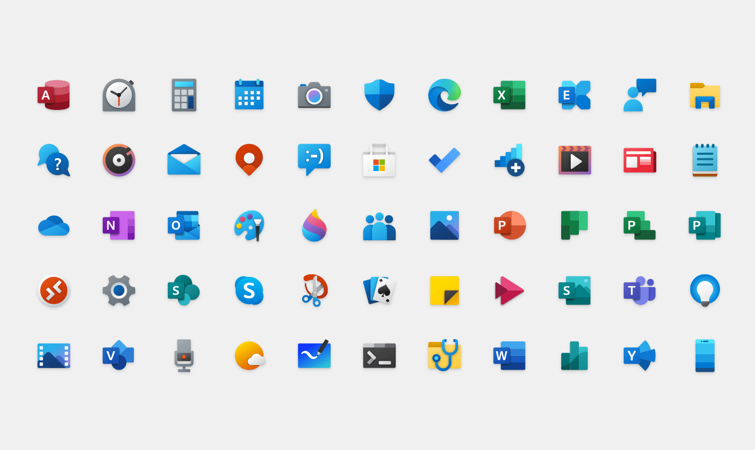 Do You Think The New Windows 10 Icons Are Strange Microsoft Opens