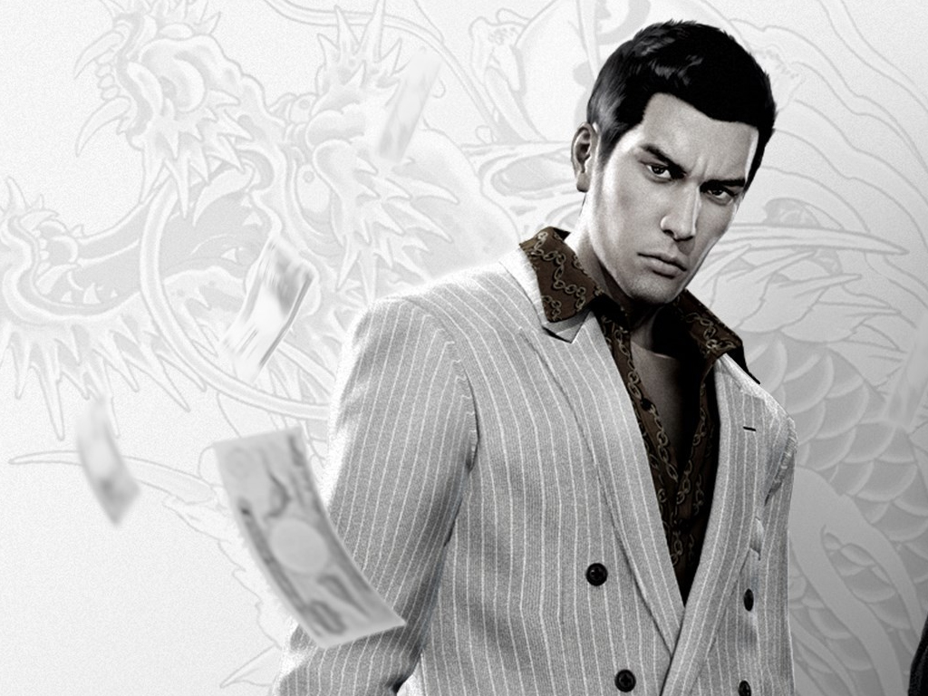 Yakuza 0 video game on Xbox One