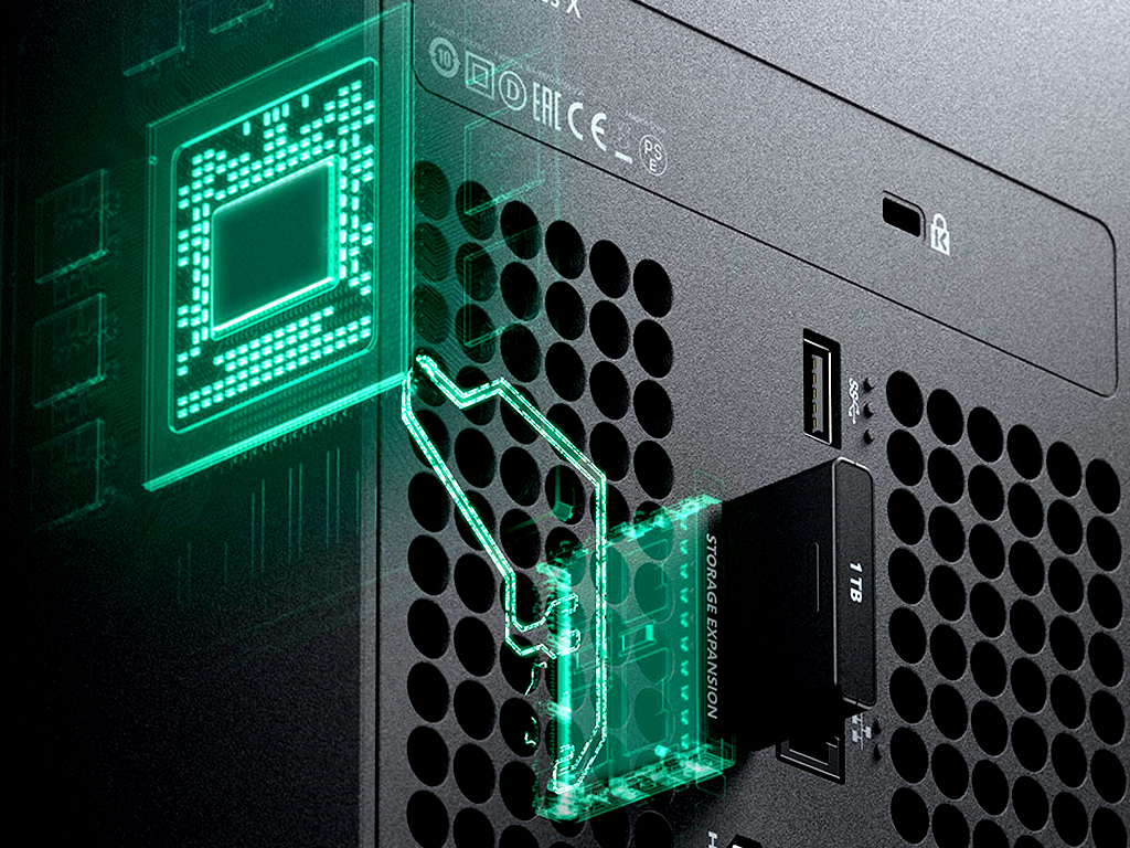 Xbox Series X video game console