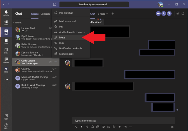 How to delete a chat in Microsoft Teams - OnMSFT.com