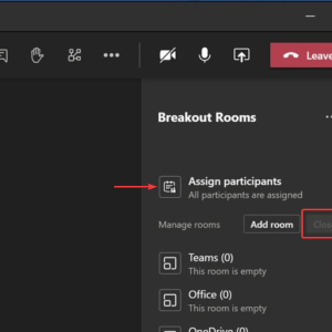 Microsoft Teams Breakout Rooms feature rolling out in preview