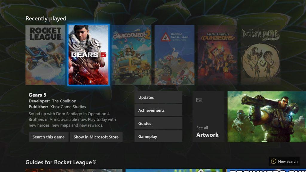 Microsoft Bing Xbox One App
