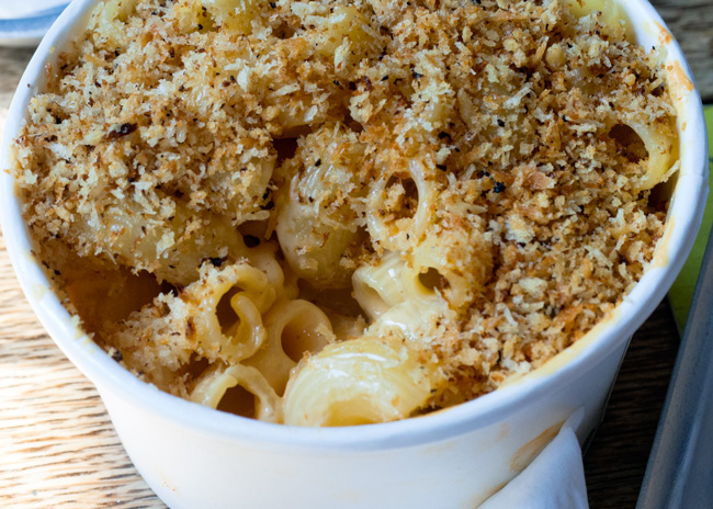 Prairie Fire BBQ mac and cheese