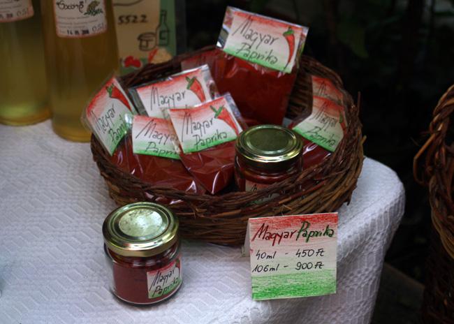 Paprika from the Szimpla Kert Farmers Market