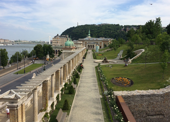 The grounds of Buda Castle