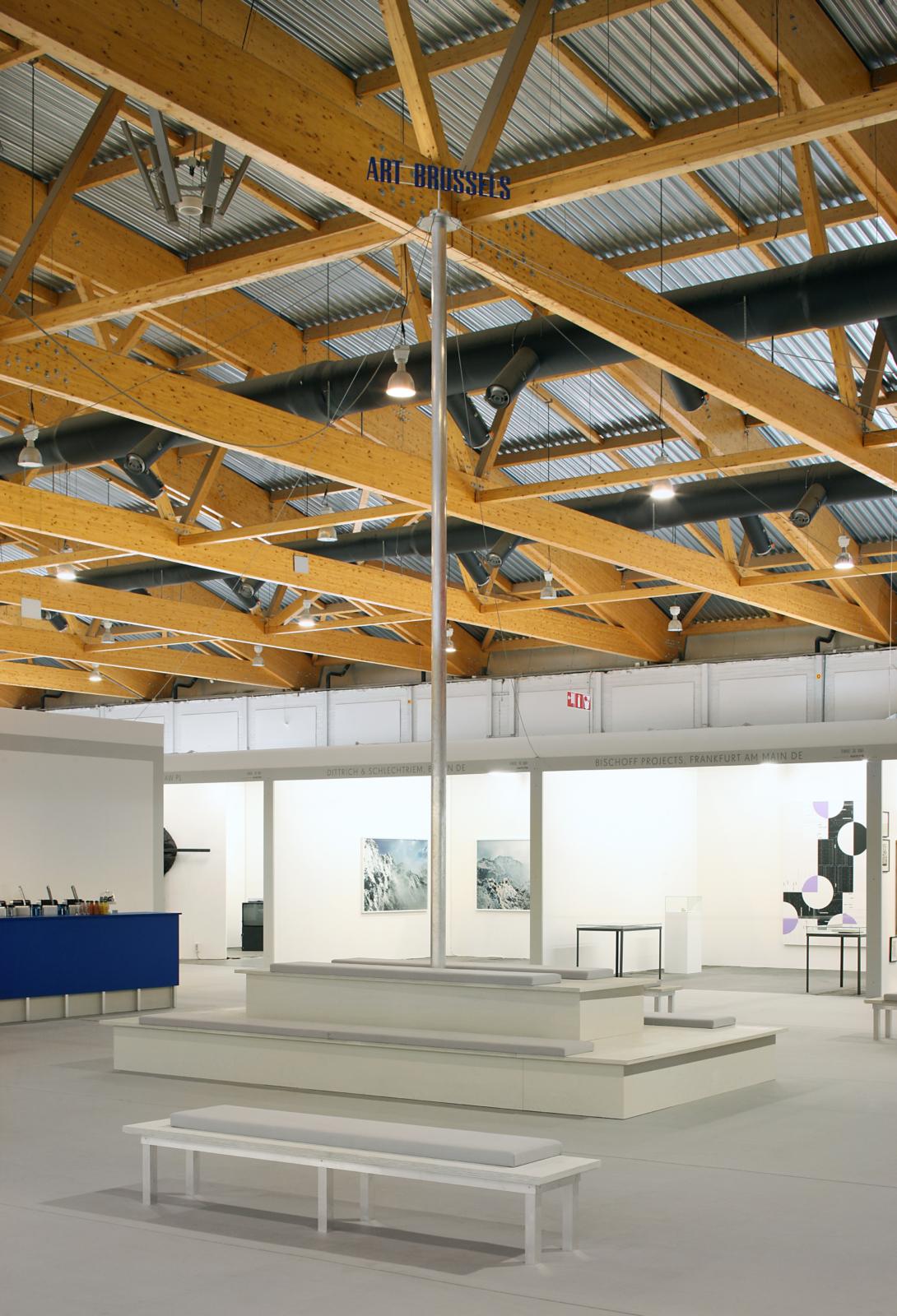 First Call Square met een selectie van jonge kunstgalerijen