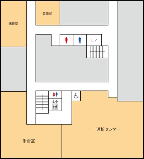 2階のフロアマップの画像