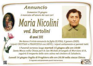 Nicolini Maria Ved. Bartolini 2021