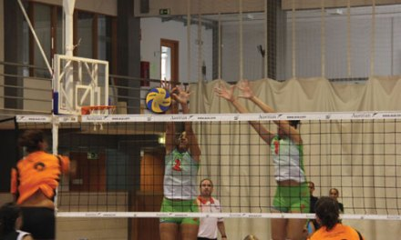 CAT regressa ao campeonato de voleibol (c/video)