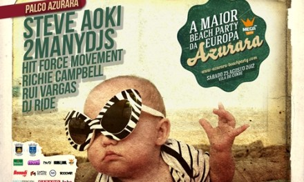 Queres ir ao Azurara Beach Party?