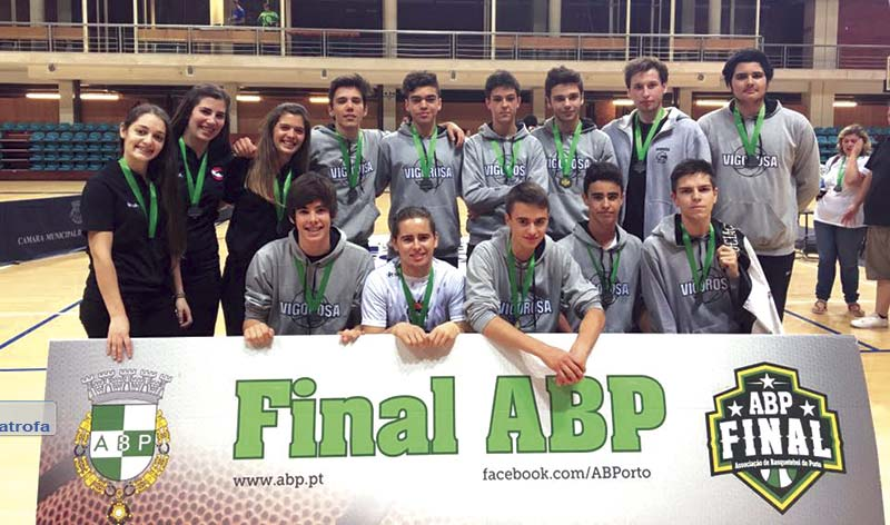 Vigorosa na Final Distrital de Basquetebol