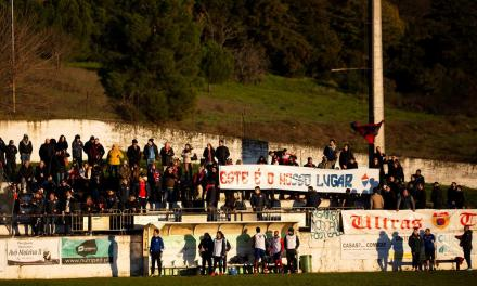 Confrontos entre adeptos no final do Mirandela-Trofense