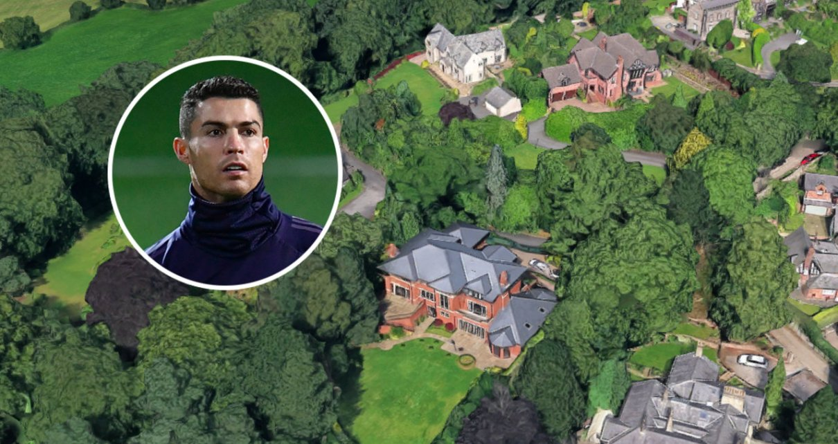 Cristiano Ronaldo Selling Former Manchester Mansion