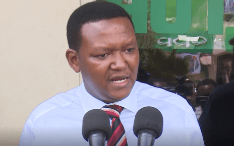 Mutua on Kangata letter