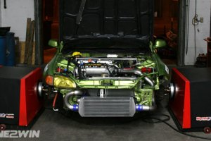 Dave Pratte's 412whp Rotrex K24