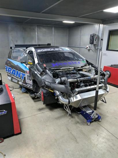Will's Unlimited FWD Civic Loading On The Dyno
