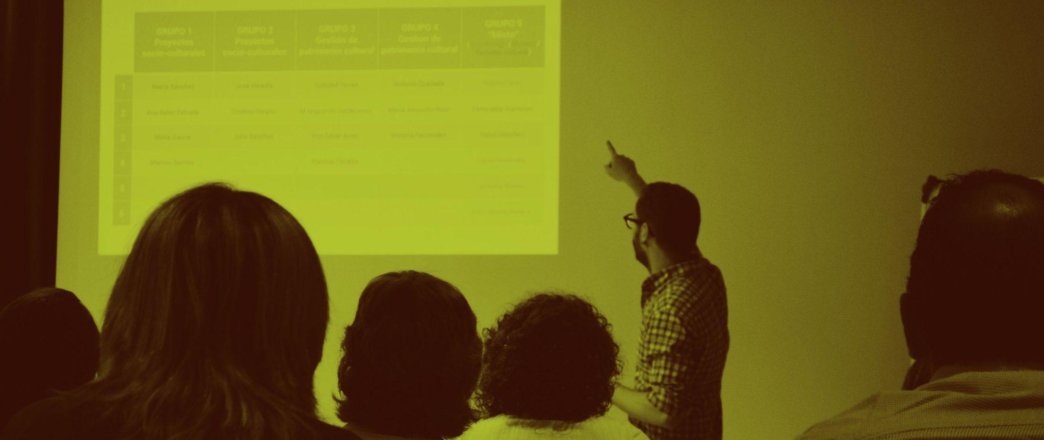 Taller de redacción de proyectos europeos en el ámbito de la cultura organizado por IAPH