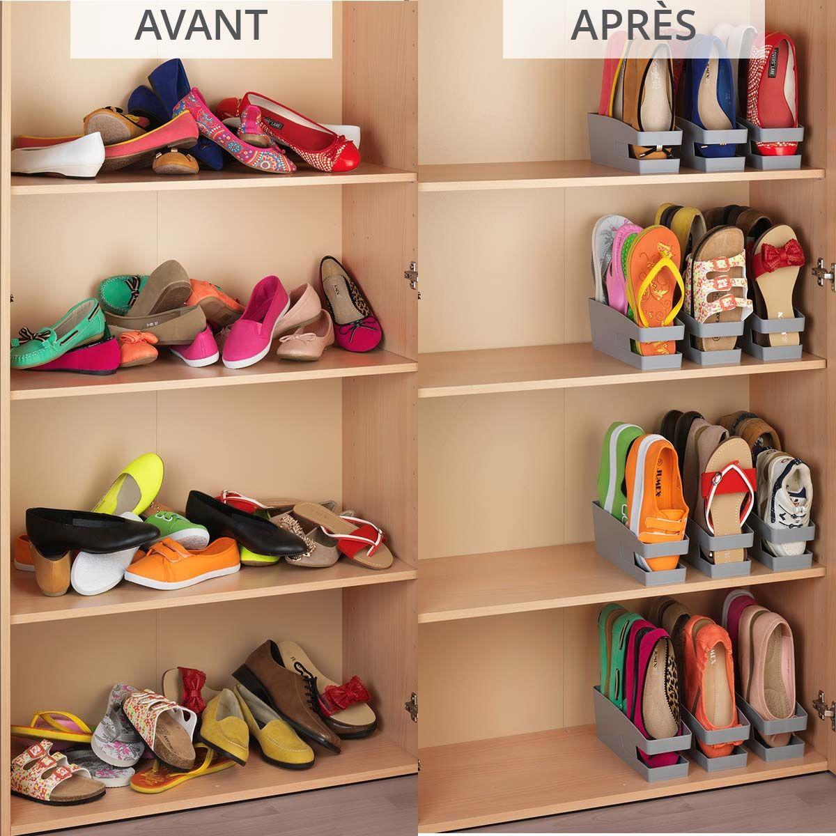 rangement chaussures venus et judes