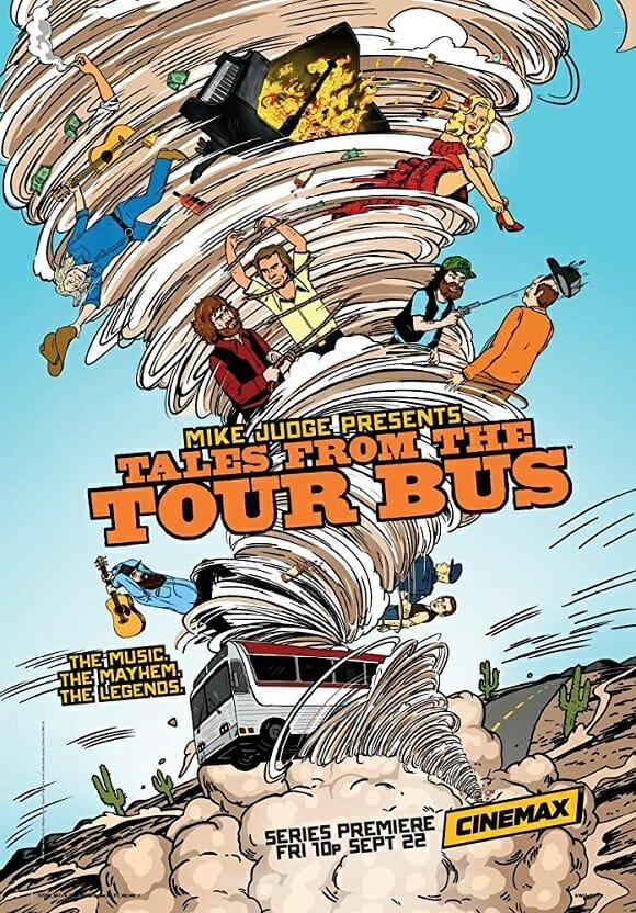 [Critique série] MIKE JUDGE PRESENTS : TALES FROM THE TOUR BUS – Saison 1