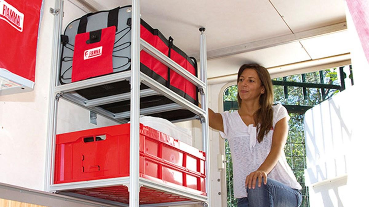 Fiamma garage system on road magazine - Estanterias para garaje ...