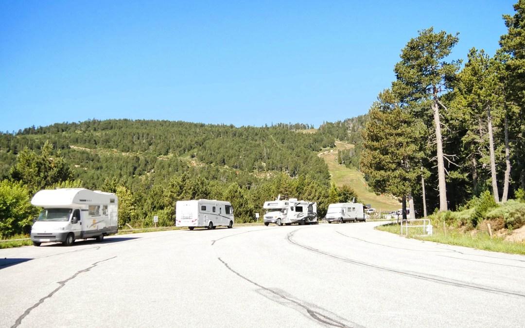 5 razones por las que deberías aparcar y no acampar