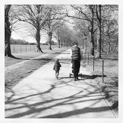 Enjoying sunshine. Daddy & son #isleofwight