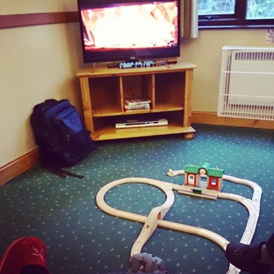 #takingcare100 day 10. Comforts of home at Center Parcs.