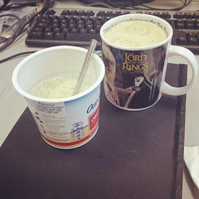 #taspic Breakfast in work...