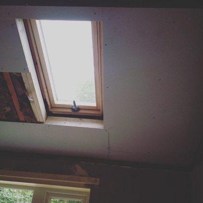 New ceiling progressing #houseremodel