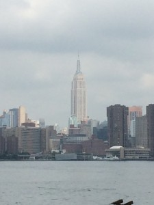 Manhattan & the Empire State Building from Brooklyn