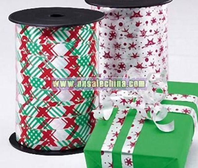 Curling Ribbon  C B Christmas Curling Ribbon