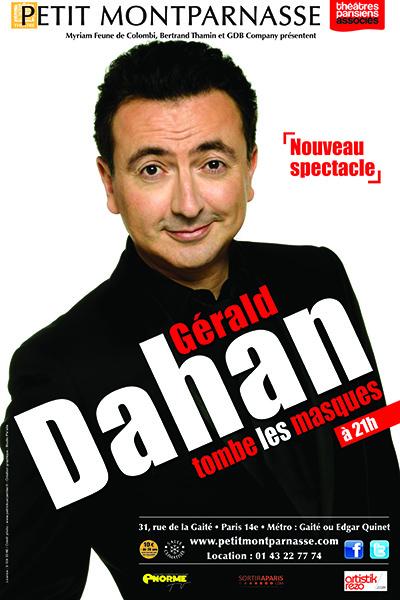 AFFICHE Gérald DAHAN