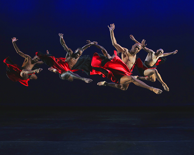 The Hunt Alvin Ailey American Dance Theater Choreography by Robert Battle Credit photo: ©Paul Kolnik paul@paulkolnik.com