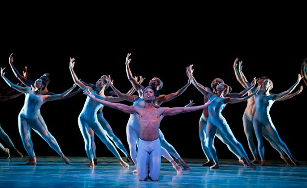 The River Choreography: Alvin Ailey Alvin Ailey American Dance Theater Credit Photo: Paul Kolnik studio@paulkolnik.com