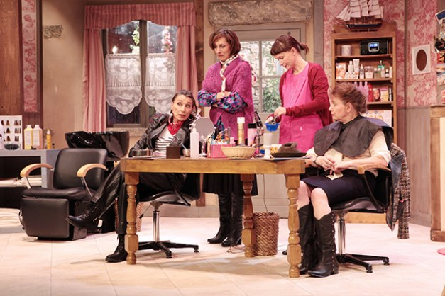 IMG_3338 Isabelle Tanakil, Marie-Hélène Lentini, Sandrine Le Berre et Brigitte Faure COIFFURE ET CONFIDENCES ©Franck Harscouët