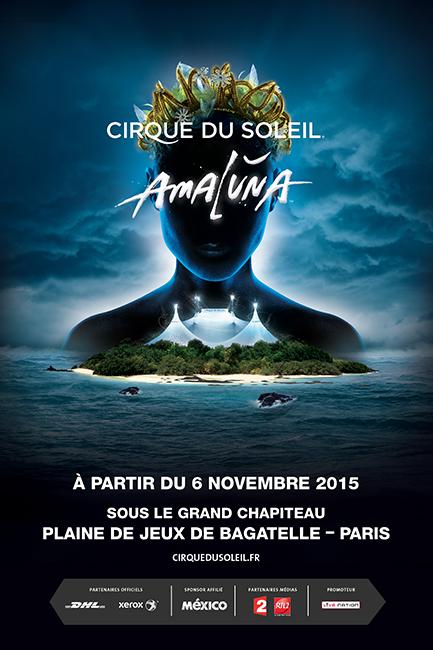 AMALUNA - Paris, A partir du 6 novembre 2015