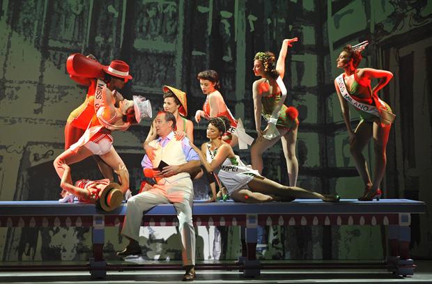 10 - Kiss Me, Kate ! - David Pittsinger (Petruchio) (c) Théâtre du Châtelet - Marie-Noëlle Robert