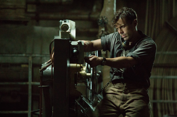 Ray Sybert (Casey Affleck) and the crew of the SS Pendleton struggle to keep their ship from sinking in Disney's THE FINEST HOURS, the heroic action-thriller presented in Digital 3D(TM) and IMAX (c) 3D based on the extraordinary true story of the most daring rescue in the history of the Coast Guard.