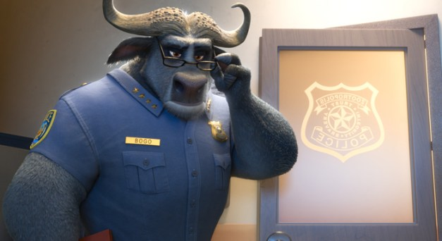ZOOTOPIA – Pictured: Chief Bogo. ©2016 Disney. All Rights Reserved.