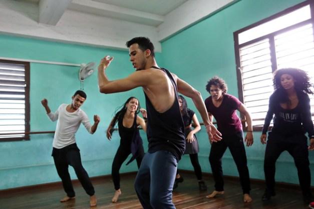 Répétition danseurs 2 - Théâtre du Châtelet © Alejandro Ernesto