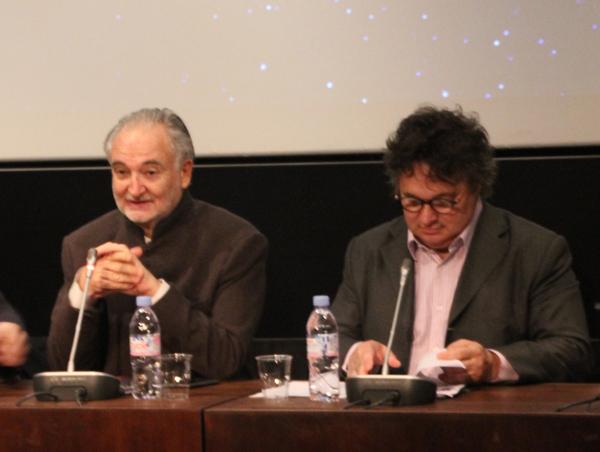 Jacques Attali et Patrick Soillot